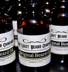 Natural Beard Oil - Unscented