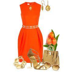 """Tangerine Cuteness"""