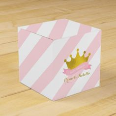 Pink and Gold Princess Birthday Celebration Favor Field. >> Find out even more at the photo