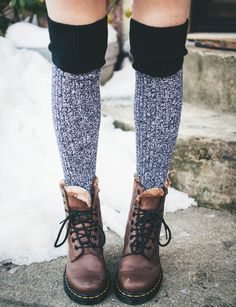 :::: i want a pair of these kind of socks so bad and i also need some new boots