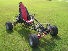 Arachnid Full Suspension Go Kart Plans by SpiderCarts