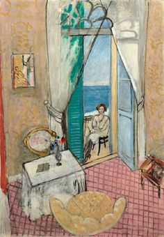 Henri Matisse, Interior at Nice, 1921