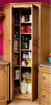 angled corner cupboards for kitchen - Google Search