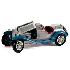 1932 Alfa Romeo 8C 2300 Spider Touring (Blue & Silver)