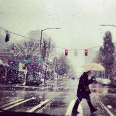 Snow in Seattle