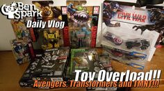 Toy Overload - Avengers, Transformers and TMNT!!! I've been picking up some toys to open on my other channel, Big Damn Kid. I haven't done anything on their excep for my Transformers Comic Book reviews and it is about time to start doing some toy unboxings and reviews.  Thanks for watching!  Please ****SUBSCRIBE****  Check out my second channel, Big DAMN Kid over at http://www.youtube.com/c/BigDamnKid   I am a co-host on SteamDads http://www.steamdads.com