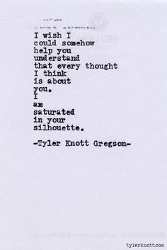 Typewriter Series #394 by Tyler Knott Gregson