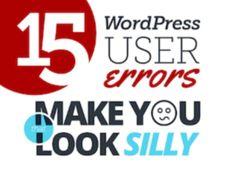 Gastartikel: 15 WordPress-Fehler, die Sie vermeiden sollten
