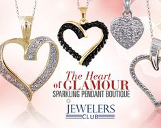 The Heart of Glamour: Sparkling Pendant Boutique -   Trends may come and go, but a beautiful pendant always shines when it comes to fine jewelry. Accessorize with ease knowing these romantic pieces won't break the bank and look stunning and stylish with sparkling accents. From demure to dramatic, these bright, charming heart shapes will...  #Diamond