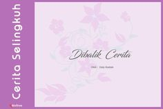 Dibalik Cerita Short Stories, Movie Posters, Movies, Art, Art Background, Films, Film Poster, Kunst, Cinema