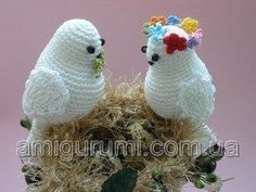 Amigurumi Love Birds - FREE Crochet Pattern / Tutorial