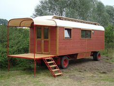 Shedworking: Zirkuswagen