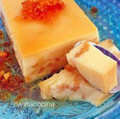 Con esta receta de pudding de magdalenas y leche condensada se prepara un postre muy vistoso y resultón con pocos ingredientes y todos muy sencillos.