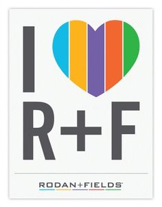 I love Rodan and Fields!