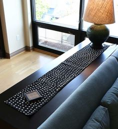 Malian Mud Cloth Dotted Table Runner