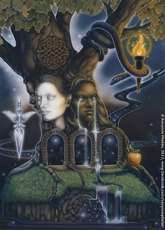 Card: Choice Deck: Dreams of Gaia Tarot