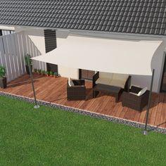 O P furniture Höffner Hamburg 7461 Ipts Retractable Shade, Patio Shade, Getaway Cabins, Outdoor Spaces, Outdoor Decor, Balcony Design, Backyard Projects, Picnic Table, Gazebo