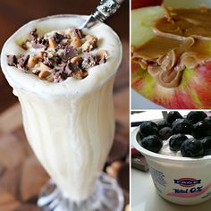 The Best Postworkout Snacks to Fuel an Afterburn: -Apple and peanut butter -Trail mix -Chocolate milk -Greek yogurt with fruit -String cheese and crackers -Peanut butter and banana on whole wheat