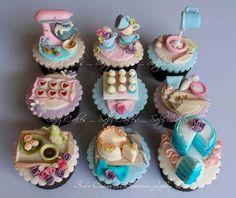 Kitchen cupcakes