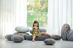 """Vercart (TM) - Plüsch Kissen auf dem Boden Stein kissen Kinderspielzeug 16""""x12"""" - Wohndekoration Kuscheltier Hintergrund und Requisit von Fotos und Films (01905)"""