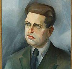 Retrato de Oswald de Andrade, 1923, por Tarsila do Amaral