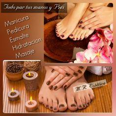 Realizamos todo tipo de tratamientos (hidratacion con parafina para tus manos y pies secos y con manchas,manicura,pedicura,esmalte permanente,uñas de porcelana y gel) Enamels, Paraffin Wax, Pedicures, Stains, Porcelain Ceramics
