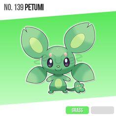 139 Petumi by zerudez on DeviantArt Pokemon Mix, Pokemon Fake, Mega Pokemon, Pokemon Fan Art, Pokemon Fusion, Pokemon Planet, Pokemon Stuff, Cute Monsters Drawings, Kawaii Drawings