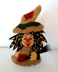Gespenster aus Papier und Wolle - Halloween-basteln - Meine Enkel und ich - Made with schwedesign.de