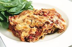 Eggplants are full of healthy vitamins and minerals. This beef lasagne incorporates their delicious flavour to create a hearty winter meal.