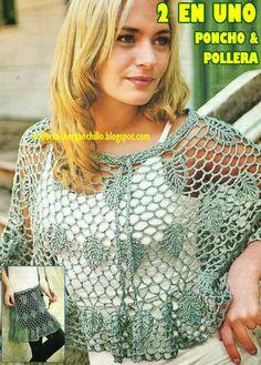 Todo crochet: Falda
