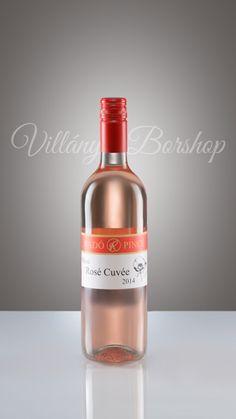 Radó Pécsi Rosé 2014  Zweigelt fajtából készült málna és ribizli illatú, ropogós és üde, vibráló, de elegáns, harmonikus savakkal. Zamata gazdag, igazi nyári üdítő bor.