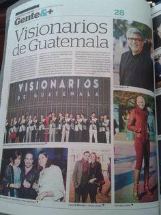 Visionarios Guatemala en El Periodico! ;)