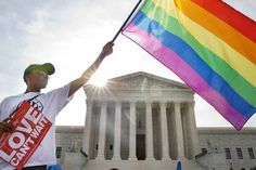 breaking news! supreme court rules gay marriage Is a nationwide right... .finally!
