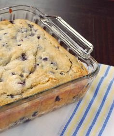 Blueberry Breakfast Cake 2