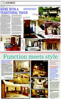 HOME WITH A TRADITIONAL TOUCH ePaper Lite - Times of India Publications