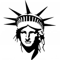 statue of liberty stencil Statue Of Liberty Drawing, Bd Design, Arte Horror, Scroll Saw Patterns, Silhouette Art, Stencil Painting, String Art, Art Lessons, Painted Rocks