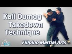 Kali DUMOG TAKEDOWN Technique - Fun Amazing Incredible!