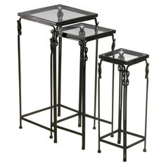 3 Piece Dupont Nesting Table Set From The Ali Larter Event At Joss
