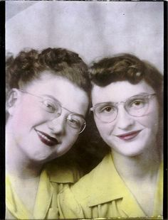 1950s Best Friends Forever!