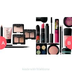 NARS makeup or M.A.C makeup? Click here to vote @ http://getwishboneapp.com/share/17580631