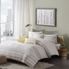 Shop for Ink Ivy Lakeside Cotton 3-piece Duvet Cover Set. Get free shipping at Overstock.com - Your Online Fashion Bedding Outlet Store! Get 5% in rewards with Club O!