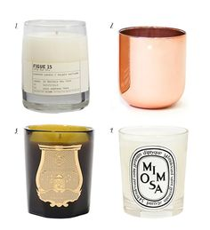 some of my favorite scented candles / sfgirlbybay