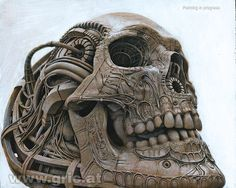 PETER GRIC | Modified Skull | Modifizierter Schädel