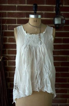 Magnolia Pearl Voile Whinnie Mae Tank  $248 at Society Hill