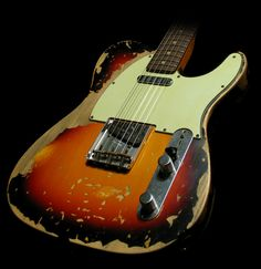 Fender Custom Shop '63 Telecaster Ultimate Relic, Music Zoo Exclusive, 3-Tone Sunburst, Masterbuilt by Jason Smith | The Music Zoo