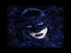 masked gothic woman.