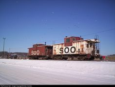 RailPictures.Net Photo: SOO 23 Soo Line Caboose at St.Paul, Minnesota by Alec Holmes