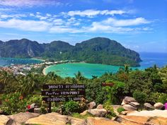 Koh Phi Phi Travel Agency, Thailand, Mountains, Water, Holiday, Outdoor, Gripe Water, Outdoors, Vacations