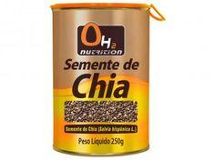Semente de Chia 250 Gramas - OH2 Nutrition