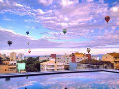 Festival de Balonismo em Santa Martia (RS).